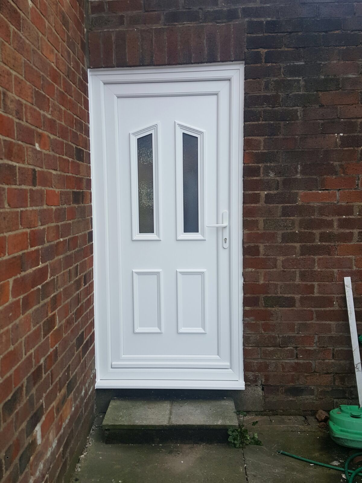 10th march 2017 upvc composite door installations for Composite windows